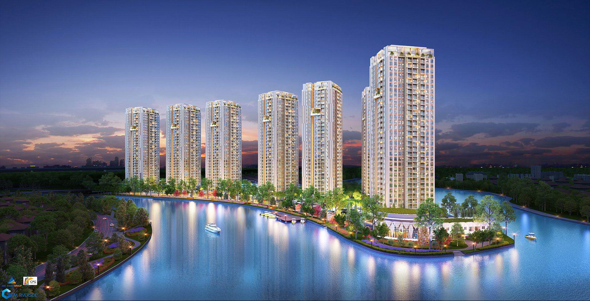 Hình ảnh dự án căn hộ Gem riverside
